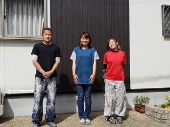 近所の方が平松さんで外壁をされていて、話を聞いて、安心して出来ると思ったから。