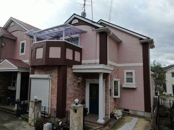 屋根 JPNフッ素UVコート、外壁 アステックリファインsiで施工させていただきました。