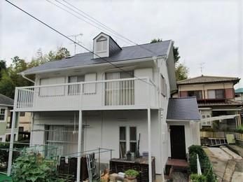 屋根・アステックペイントリ遮熱サーモ、外壁・アステックペイントリファインSiで施工させていただきました。